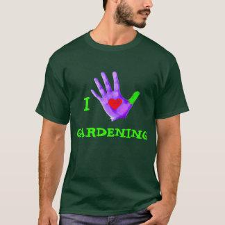 I Love Gardening (Green Thumb) T-Shirt