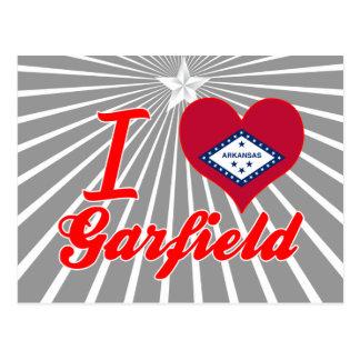 I Love Garfield, Arkansas Postcard
