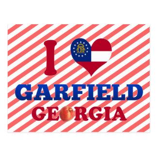 I Love Garfield Georgia Post Cards