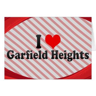 I Love Garfield Heights, United States Card