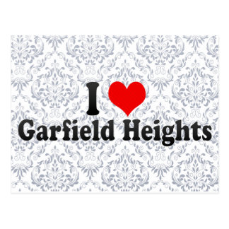 I Love Garfield Heights, United States Post Cards
