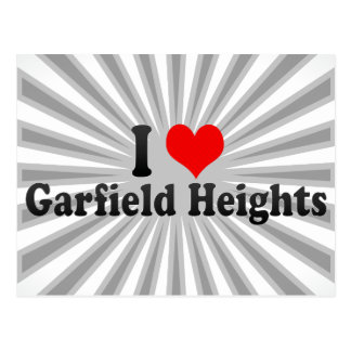 I Love Garfield Heights, United States Post Card
