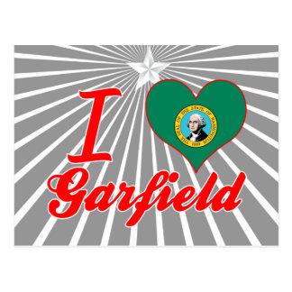 I Love Garfield, Washington Postcards