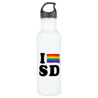 I LOVE GAY SOUTH DAKOTA 710 ML WATER BOTTLE