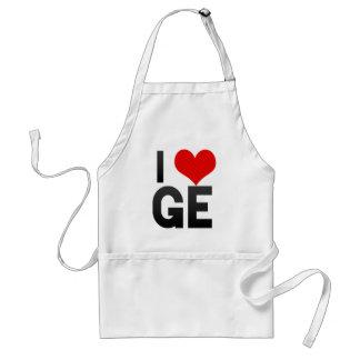 I Love GE Standard Apron