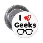I love Geeks Button