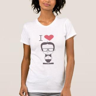 I Love Geeks (Character Design) T-shirts