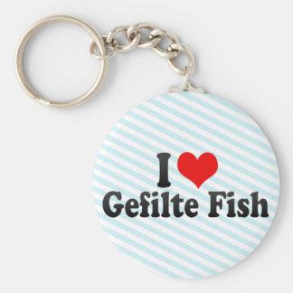I Love Gefilte Fish Key Ring