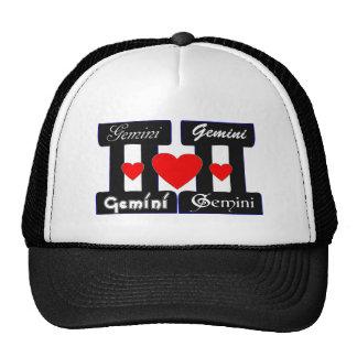 ♊★😍I Love Gemini-Best-Zodiac Sign Basic Stylish Cap