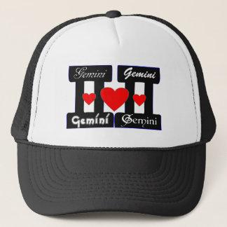 ♊★😍I Love Gemini-Best-Zodiac Sign Basic Stylish Trucker Hat