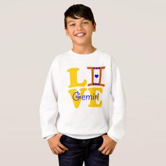 ♊★😍I Love Gemini-Best-Zodiac Sign Crewneck Sweatshirt