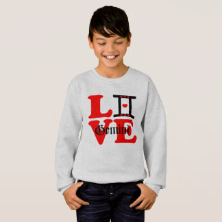 ♊★😍I Love Gemini-Best-Zodiac Sign Fab Crewneck Sweatshirt