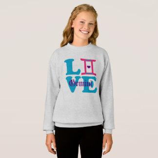 ♊★😍I Love Gemini-Best-Zodiac Sign Fabulous Sweatshirt