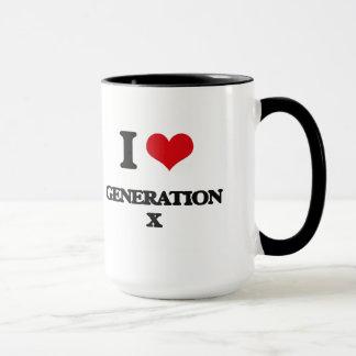 I love Generation X Mug