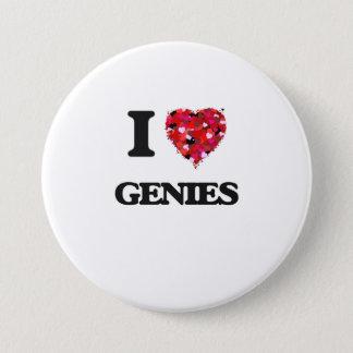I love Genies 7.5 Cm Round Badge