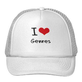 I Love Genres Trucker Hat