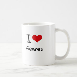 I Love Genres Coffee Mug