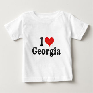 I Love Georgia Baby T-Shirt