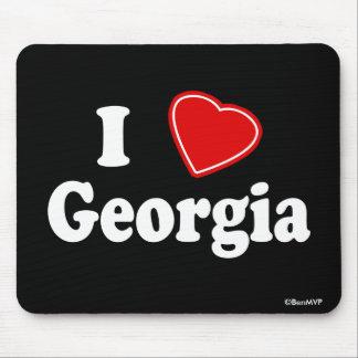 I Love Georgia Mouse Pad