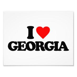 I LOVE GEORGIA PHOTO