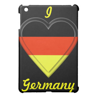 I love Germany iPad Mini Cover