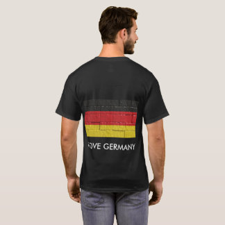 I Love Germany T-Shirt men Shirt