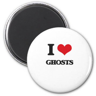 I love Ghosts Magnet