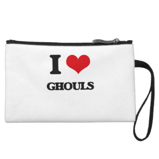 I love Ghouls Wristlet Purse
