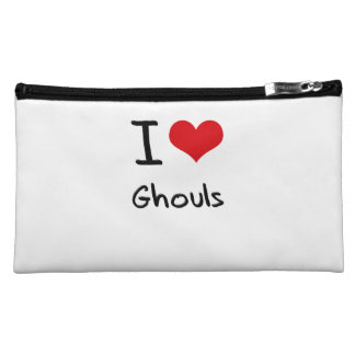 I Love Ghouls Cosmetic Bags