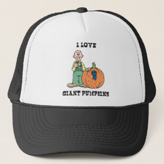 I Love Giant Pumpkins Trucker Hat