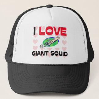 I Love Giant Squid Trucker Hat