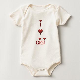 I love Gigi baby infant Baby Bodysuit