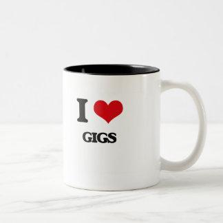 I love Gigs Coffee Mugs