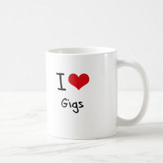 I Love Gigs Mugs