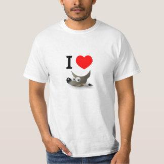 I love GIMP T-Shirt