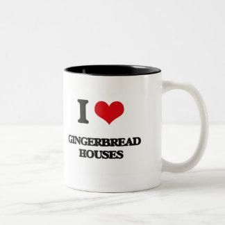 I love Gingerbread Houses Mugs