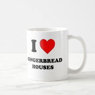 I Love Gingerbread Houses Mug