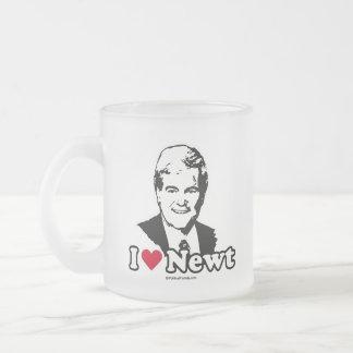 I Love Gingrich (2) Coffee Mugs