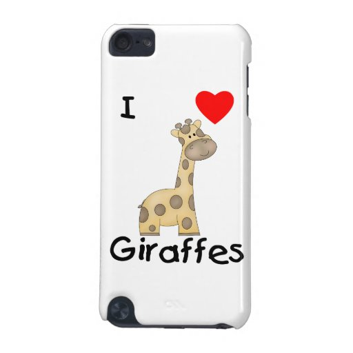 I Love Giraffes (2) iPod Touch (5th Generation) Cover