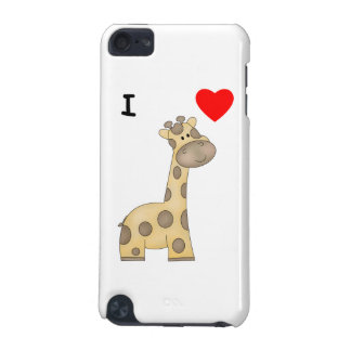 I Love Giraffes (3) iPod Touch (5th Generation) Cases