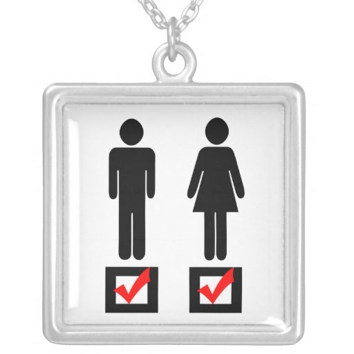 I Love Girls and Boys Necklaces
