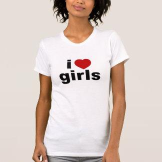 I Love Girls Performance Micro-Fiber Singlet Tee Shirts