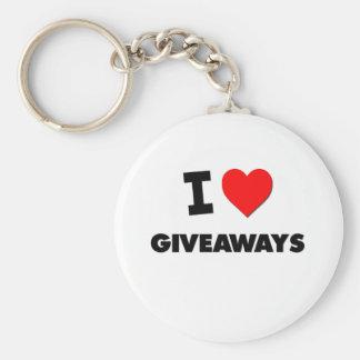 I Love Giveaways Keychains