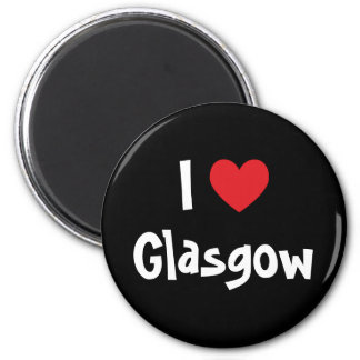 I Love Glasgow Magnet