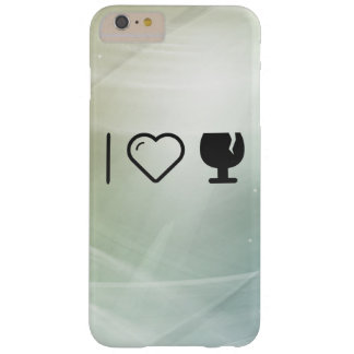 I Love Glass Liquors Barely There iPhone 6 Plus Case