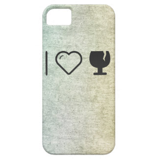 I Love Glass Liquors Barely There iPhone 5 Case