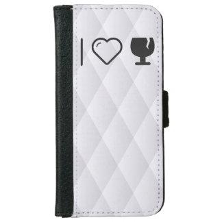 I Love Glass Liquors iPhone 6 Wallet Case
