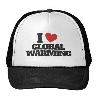 I Love Global Warming Mens' T-Shirt Cap