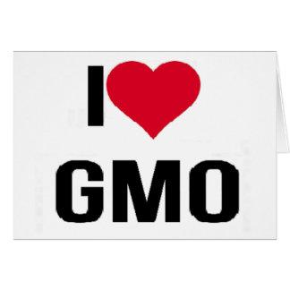 I Love GMO Card