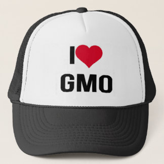 I Love GMO Trucker Hat